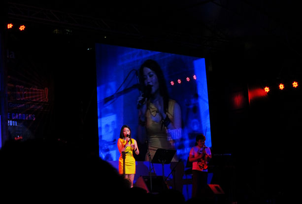 Sabrina Filipina Singer Acoustic Sweetheart on Tunog Pinoy Stage Singing