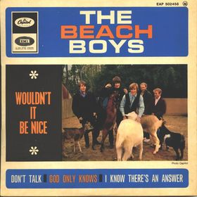 The Beach Boys, Wouldn't It Be Nice Album Cover