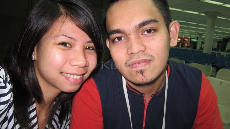 Waiting at the Manila Domestic Airport