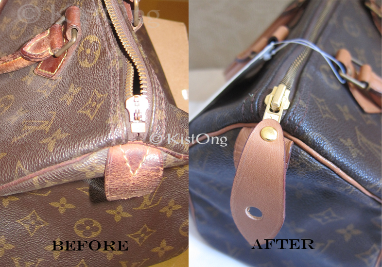 Restoring A Vintage Louis Vuitton Speedy Bag Bridal Prenups