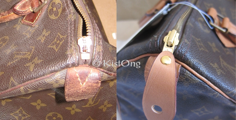 Restoring A Vintage Louis Vuitton Speedy Bag – Bridal  f4c5dc5a3f518