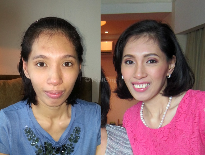 Sis-in-law's transformation.