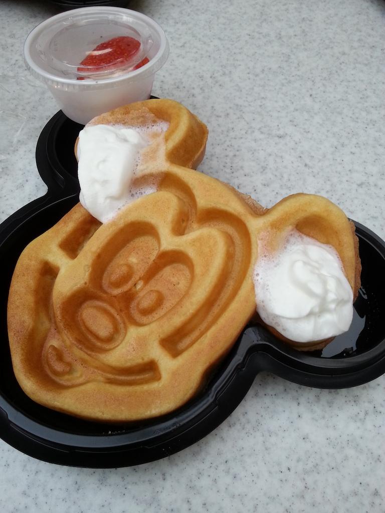 26mickeymouse waffle