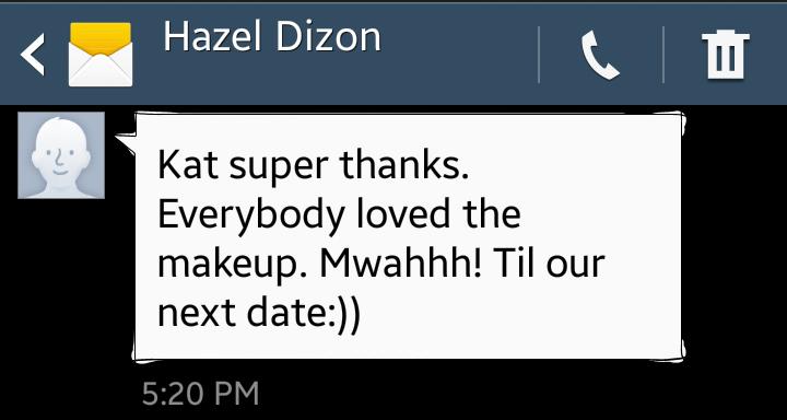 hazel feedback