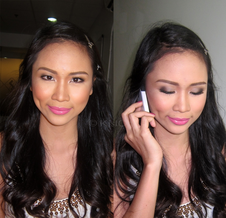 more photos of her final look - makeup artist in mandaluyong