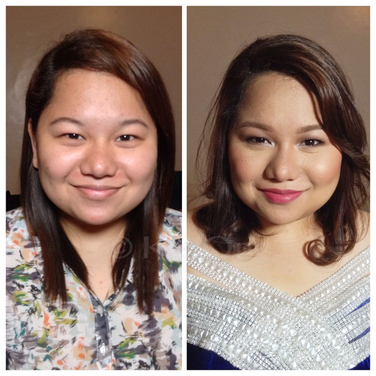 Anj's before and after photo